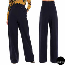 Dries Van Noten Plain Long Elegant Style Pants