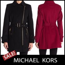 Michael Kors Casual Style Wool Plain Medium Party Style Office Style