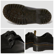 Dr Martens HOLLY Platform Moccasin Round Toe Lace-up Casual Style Unisex