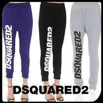 D SQUARED2 Casual Style Sweat Street Style Plain Long Sweatpants