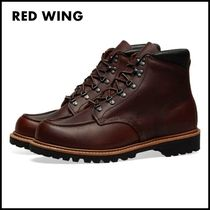 RED WING Plain Leather Boots