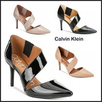 Calvin Klein Wedge Casual Style Plain Party Style Office Style