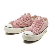 CONVERSE ALL STAR Platform Casual Style Street Style Shearling