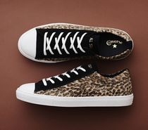 CONVERSE ALL STAR Leopard Patterns Casual Style Unisex Street Style