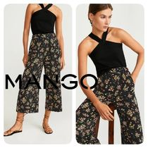 MANGO Flower Patterns Medium Culottes & Gaucho Pants