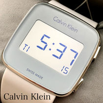 Calvin Klein Casual Style Unisex Street Style Silicon Square
