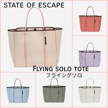 State of Escape Casual Style Unisex Bag in Bag 2WAY Plain Handmade