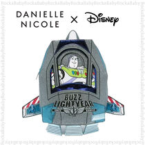 DANIELLE NICOLE Casual Style Unisex Collaboration A4 Backpacks