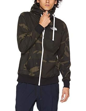 THE NORTH FACE Hoodies Camouflage Unisex Long Sleeves Cotton Logo Outdoor Hoodies 3