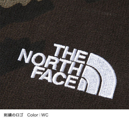 THE NORTH FACE Hoodies Camouflage Unisex Long Sleeves Cotton Logo Outdoor Hoodies 6