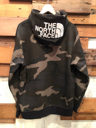 THE NORTH FACE Hoodies Camouflage Unisex Long Sleeves Cotton Logo Outdoor Hoodies 8