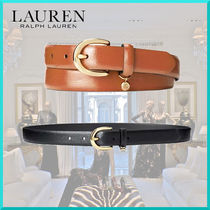 Ralph Lauren Plain Leather Belts