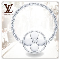 Louis Vuitton MONOGRAM Blended Fabrics Flower Chain Party Style Elegant Style Rings