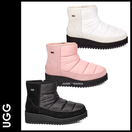 UGG Australia Ankle & Booties Plain Toe Casual Style Plain Ankle & Booties Boots
