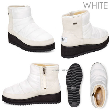 UGG Australia Ankle & Booties Plain Toe Casual Style Plain Ankle & Booties Boots 4