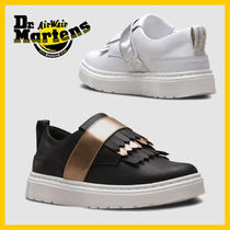 Dr Martens Casual Style Unisex Street Style Plain Low-Top Sneakers