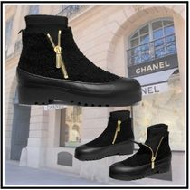 CHANEL 2019-20AW SHORT BOOTS black ankle & booties