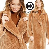 Michael Kors Casual Style Plain Long Coats