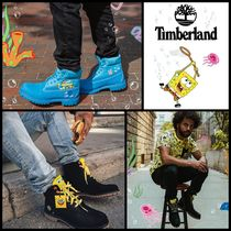 Timberland Unisex Street Style Collaboration Boots