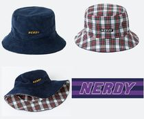 NERDY Unisex Street Style Hats & Hair Accessories