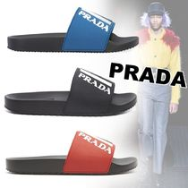 PRADA Shower Shoes PVC Clothing Shower Sandals