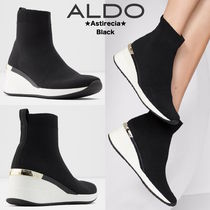 ALDO Wedge Casual Style Street Style Plain