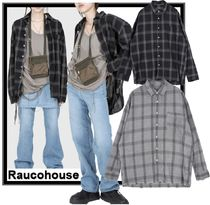 Raucohouse Casual Style Unisex Street Style Shirts & Blouses