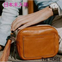The Horse Casual Style Street Style Plain Leather Shoulder Bags