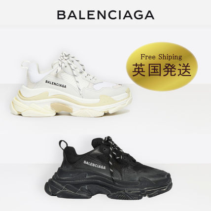 Unisex Blended Fabrics Low-Top Sneakers