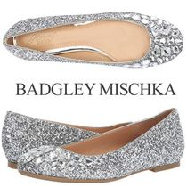 Badgley Mischka Party Style With Jewels Flats
