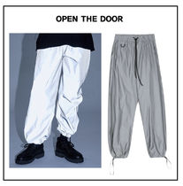 OPEN THE DOOR Plain Pants