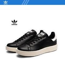 adidas STAN SMITH Platform Casual Style Unisex Street Style