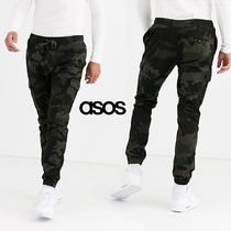 ASOS Tapered Pants Camouflage Street Style Tapered Pants
