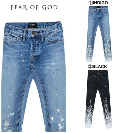 FEAR OF GOD More Jeans Denim Street Style Cotton Jeans