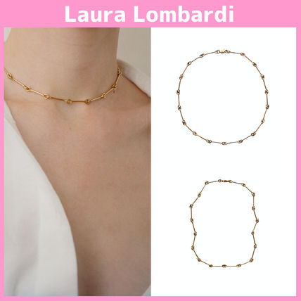 Chain Party Style Brass Necklaces & Pendants