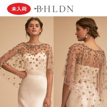 BHLDN Short Blended Fabrics Plain Boleros & Shawls