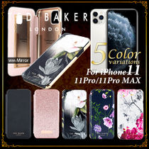 TED BAKER Plain Leather Smart Phone Cases