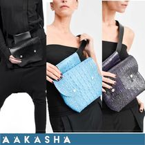 Aakasha Other Animal Patterns Leather Handmade Elegant Style Bags