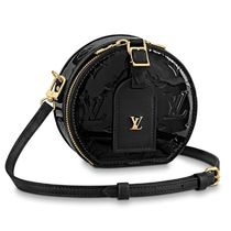 Louis Vuitton MONOGRAM VERNIS Casual Style Calfskin 3WAY Plain Party Style Elegant Style