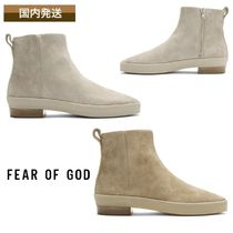FEAR OF GOD Suede Street Style Plain Boots
