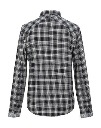 Scotch & Soda Button-down Other Plaid Patterns Street Style Long Sleeves