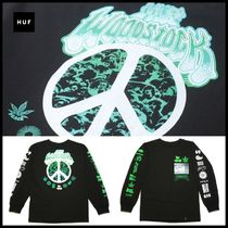 HUF Street Style Collaboration Long Sleeves Cotton
