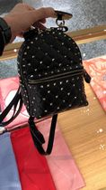 VALENTINO Casual Style Studded Plain Backpacks