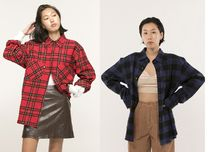MISCHIEF Other Check Patterns Plain Shirts & Blouses