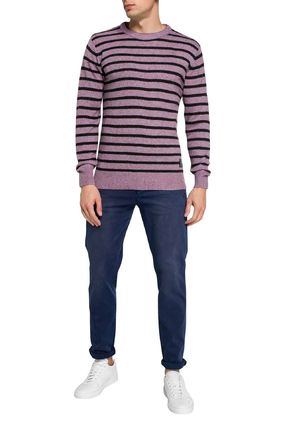 Scotch & Soda Knits & Sweaters Crew Neck Pullovers Stripes Wool Street Style Long Sleeves 2