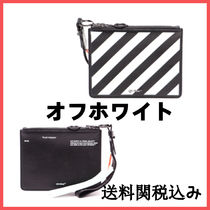 Off-White Unisex Clutches