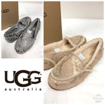 UGG Australia HAILEY FLUFF LOAFER Moccasin Casual Style Flats