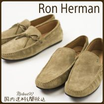 Ron Herman Moccasin Suede Collaboration Plain Loafers & Slip-ons