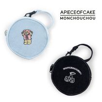 A PIECE OF CAKE Unisex Street Style Plain Bags