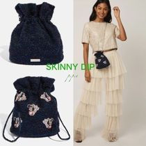 SKINNYDIP 2WAY Chain Other Animal Patterns Party Style Purses